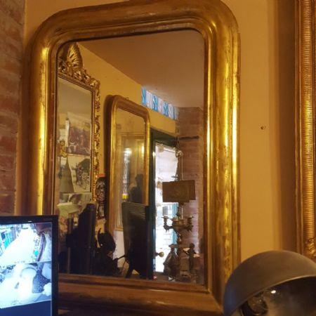 specchiera dorata epoca 800