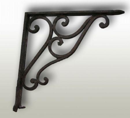 Mensola in ferro. Epoca 1800.