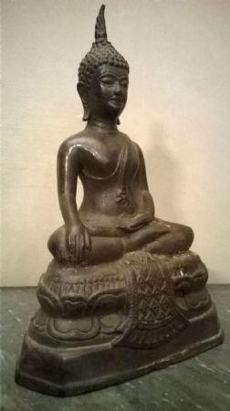 Piccolo bronzo divinità orientale