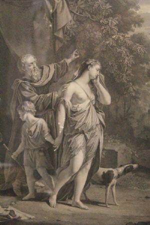 """""""Agar renvoyé par Abraham, d'après Van Dycke"""""""