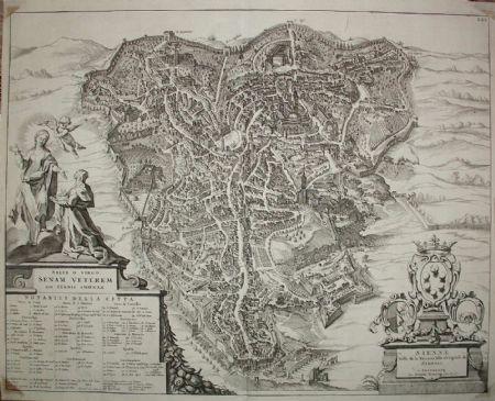 Siena - P. Mortier 1704