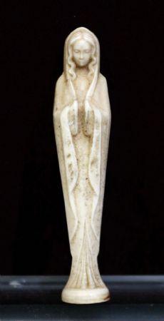 Miniatura raffigurante Madonna.