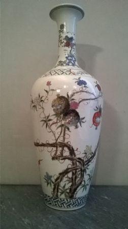 Vaso cinese variopinto