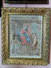 """Felice Giani """" Riposo dalla Fuga in Egitto """" 1785"""