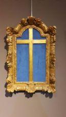 Cornice porta Cristo del' 700