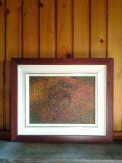 """olio su tela """"Il bosco dei caprioli"""" 1993"""
