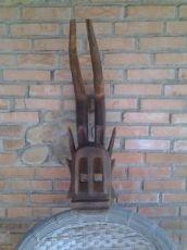 maschera rituale dogon del Mali