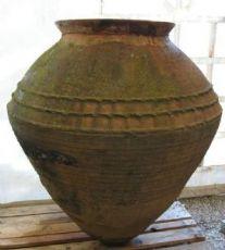 Anfora antica in terracotta. Grecia, paesi del mediterraneo. Art.0903