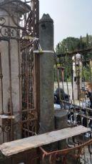 colonne da cancello con cancello