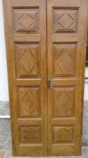 porta dupla noz bonita com 4 sformellature