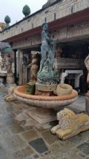 vasca da centro in marmo