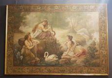 Große Leinwand gemalt von Giotto Himbeeren 800 End
