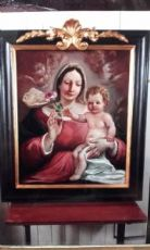 """Painting """"Madonna of the Rose"""""""