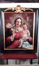 """Dipinto """"Madonna della rosa"""""""