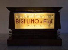 Insegna Bisi Lino & Figli . 1850