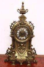 灿烂的青铜钟拿破仑三世1850年至1880年/巴黎/古董。