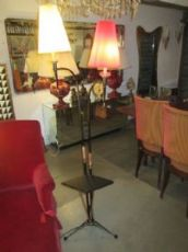 FLOOR LAMP IRON AND COPPER