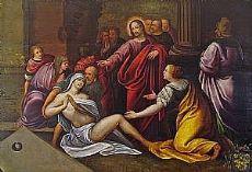 Resurrección de Lázaro a bordo - la resurrección de Lázaro en