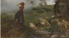 Leonardo Bazzaro Pecorella smarrita, 1900-1902