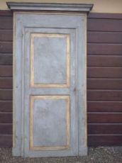 lackierte Tür