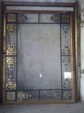 gran puerta de cristal