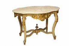 Consolle dorata e laccata Toscana Sec XVIII