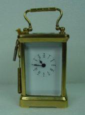 """Horloge de table """"officier"""" hauteur de 7 cm, 5"""