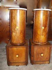 Paire de colonnes de bavure