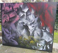 "dipinto su tela ""Vittorio Garbaccio"""
