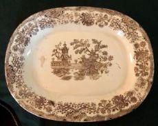piatto in ceramica del 1800 Musso