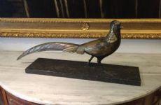Scultura in bronzo del '900