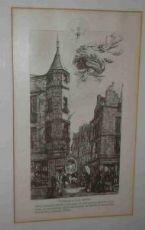 Gravure originale signée Charles Méryon