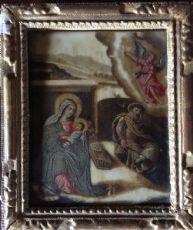 Annunciazione dell'angelo su alabastro