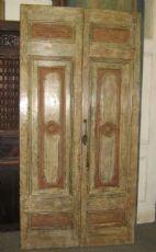 Puerta Piamonte pintado al temple
