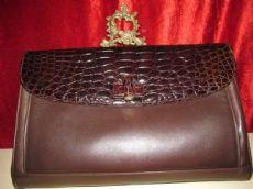 borsa vintage coccodrillo