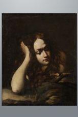 """Dipinto raffigurante """"Maddalena penitente """""""