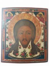 Saviour not painted by human hand - Central Russia - eighteenth century