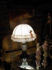 """LAMPE DE TABLE MURANO VERRE """"futuriste"""""""