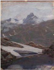 Emilio Longoni, Lago glaciale