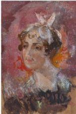 Pompeo Mariani, Il nastro rosa, 1895