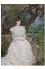 Pompeo Mariani, La mia Nana in bianco, 1898