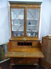 Bookcase vittoriana in Satinwood dipinto