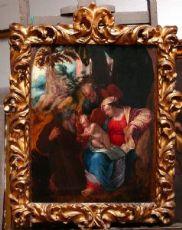"""Sainte Famille"", Lelio Orsi 1508-1587."
