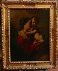 """""""Vierge à l'Enfant"""" Elizabeth Sirani et Cadet."""
