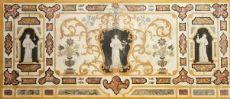Людовико Leoni (Карпи, 1637 Кремона, 1727) - фронтальная полихромной скальол