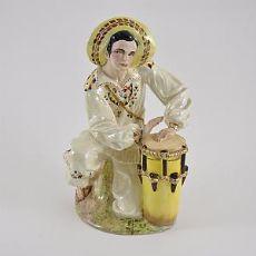 Suonatore di tamburo Tiziano Galli