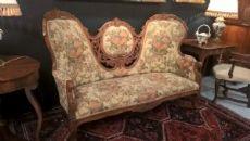 divano luigi filippo noce