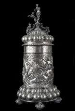 Boccale in argento Germania fine XVIII Secolo