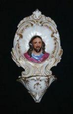 2) Acquasantiera in ceramica - 1860-80