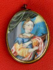Miniatura Santa Caterina d'Alessandria